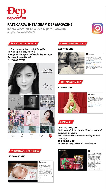 Báo giá đăng bài Pr, Booking quảng cáo trên Dep.com.vn