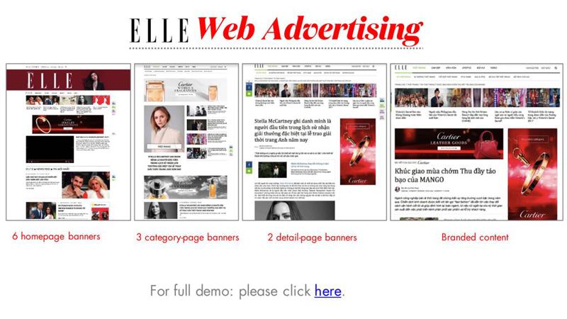 Báo giá đăng bài Pr, Booking quảng cáo trên Elle.vn