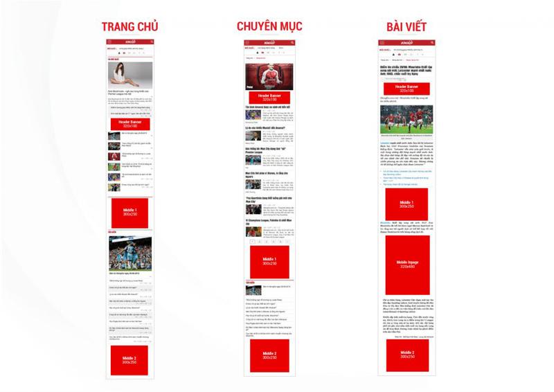 Báo giá đăng bài Pr, Booking quảng cáo trên bongda.com.vn